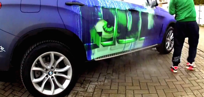 See This BMW X6 Hulk Out Before Your Eyes