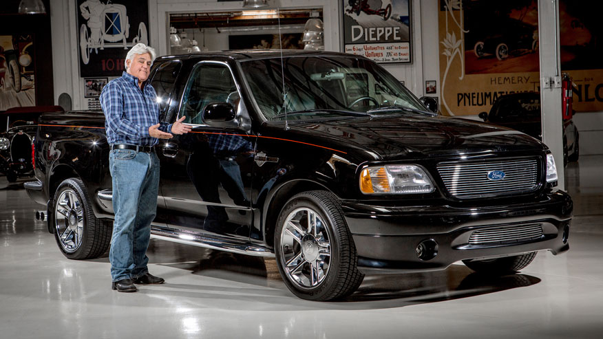 Jay Leno Auctions F-150 Harley Davidson Truck for Charity