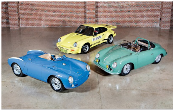 Seinfeld Set to Sell Three of His Vintage Porsches