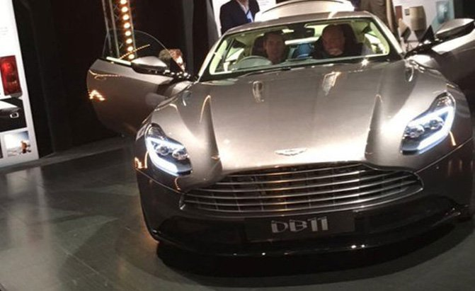 Aston Martin DB11 Leaked