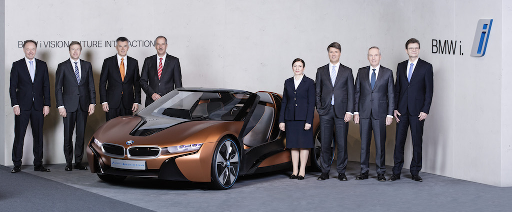 BMW Gets an Electric Revival with the iNEXT