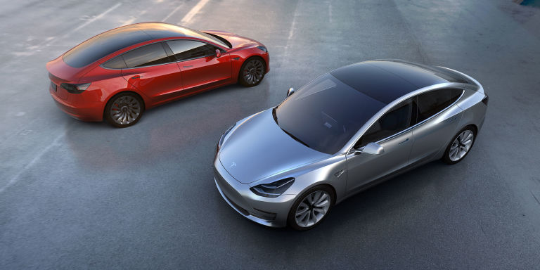 Tesla Model 3 and the Bolt in its Plans