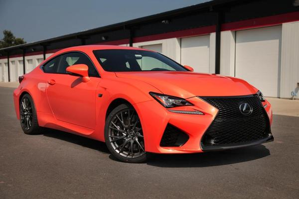 Review of The 2015 Lexus RC F