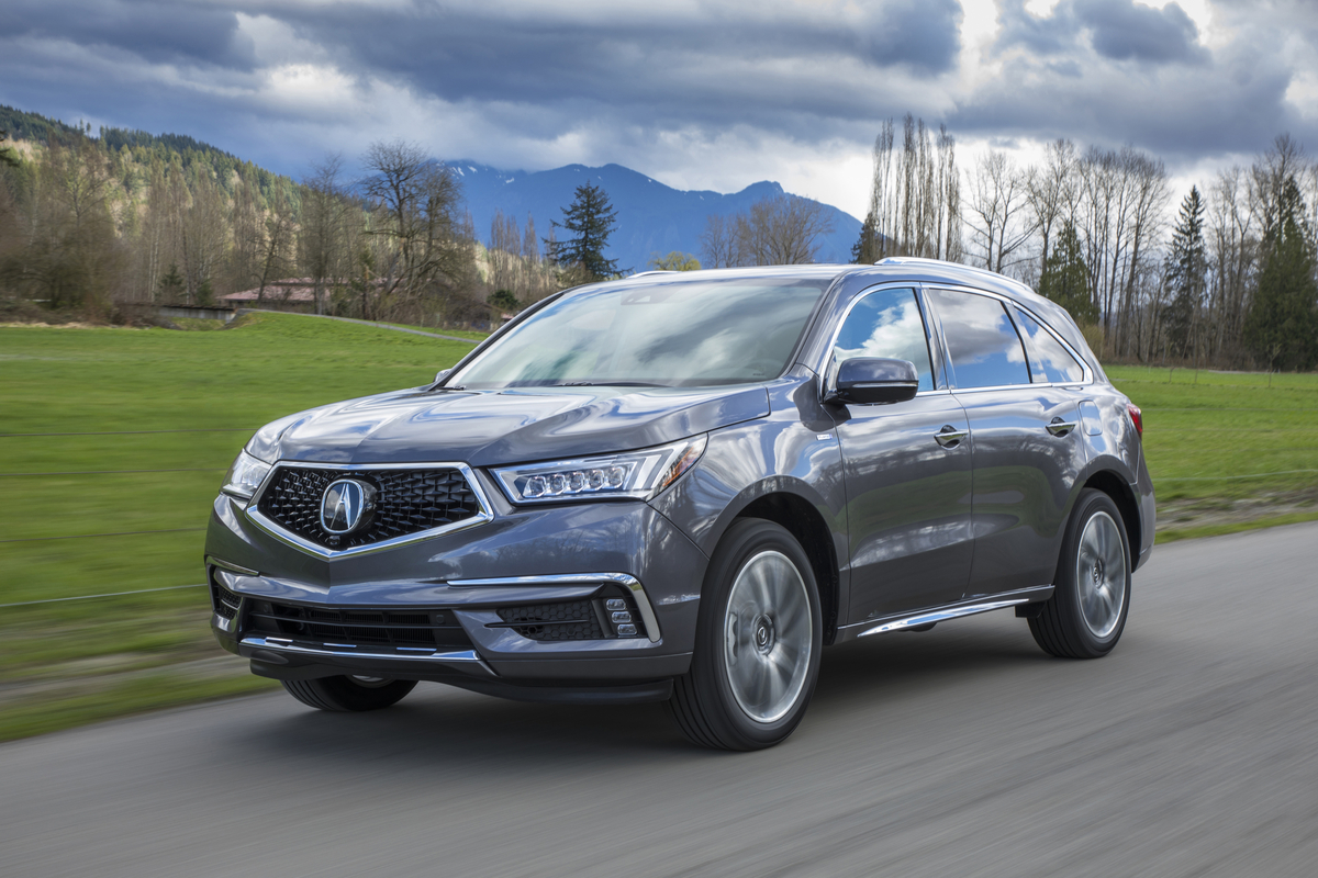 Acura Freshens Up the MDX for 2019