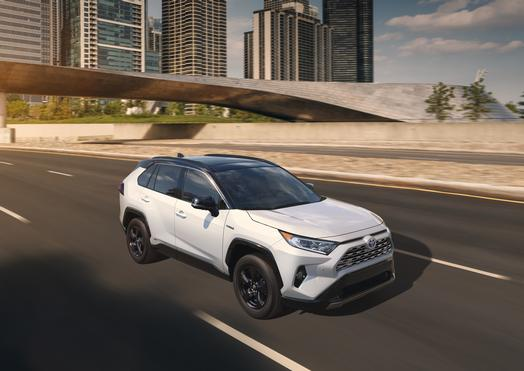 The 2019 Toyota RAV4 Manhandles the Competition